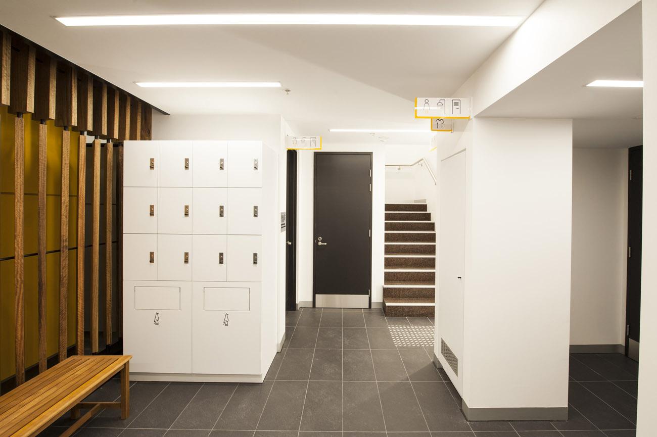 8 Exhibition Street mini lockers