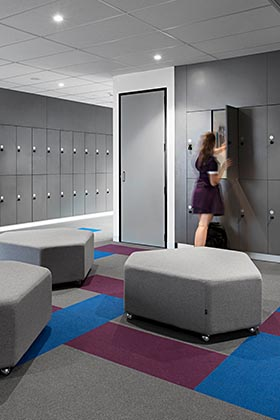 laminate school lockers