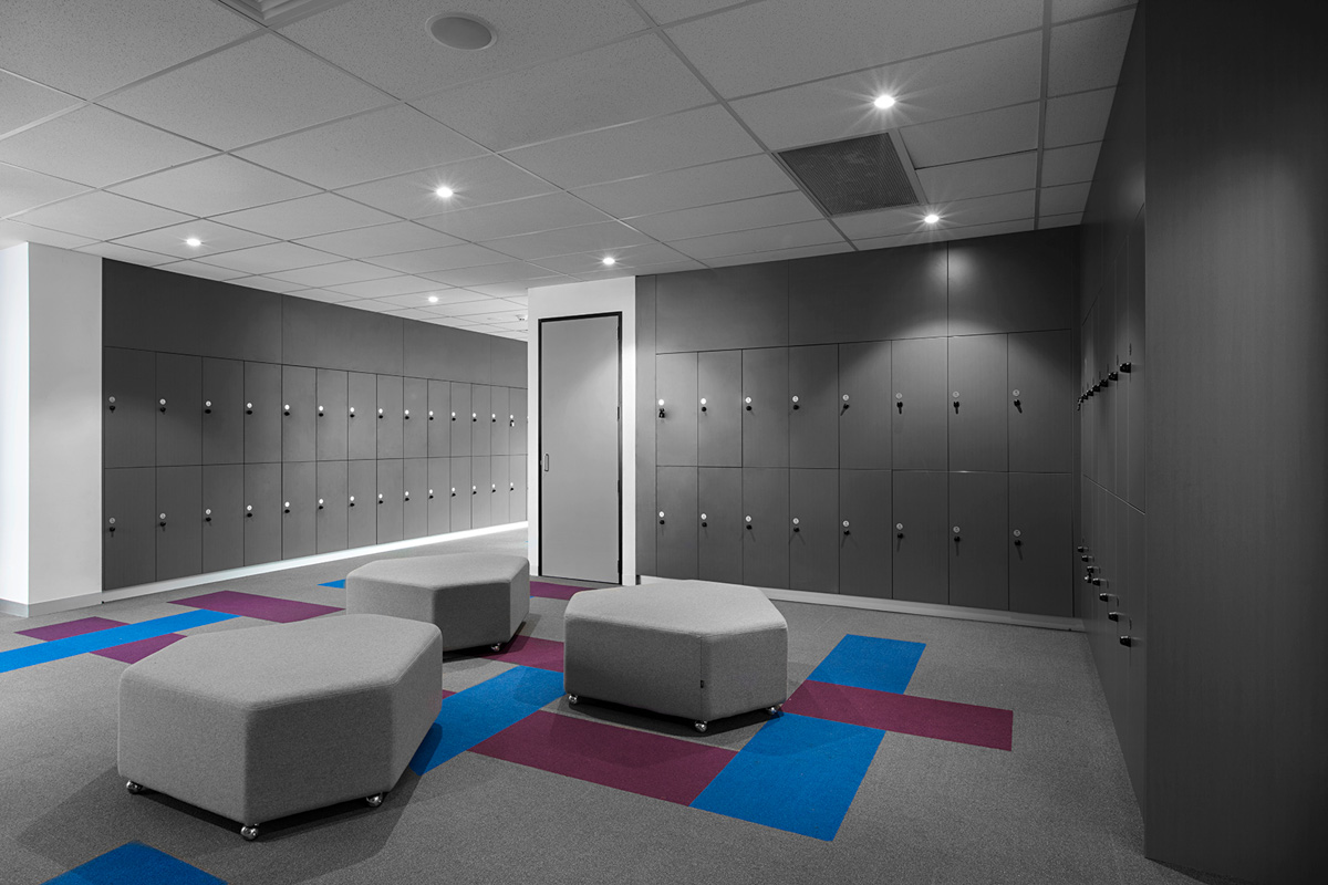 Locker space at Southern Cross Grammar