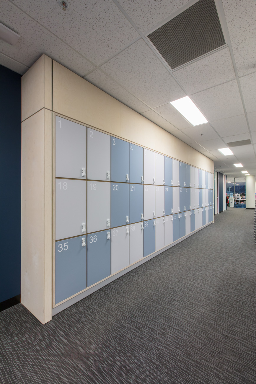 white combination locker lock