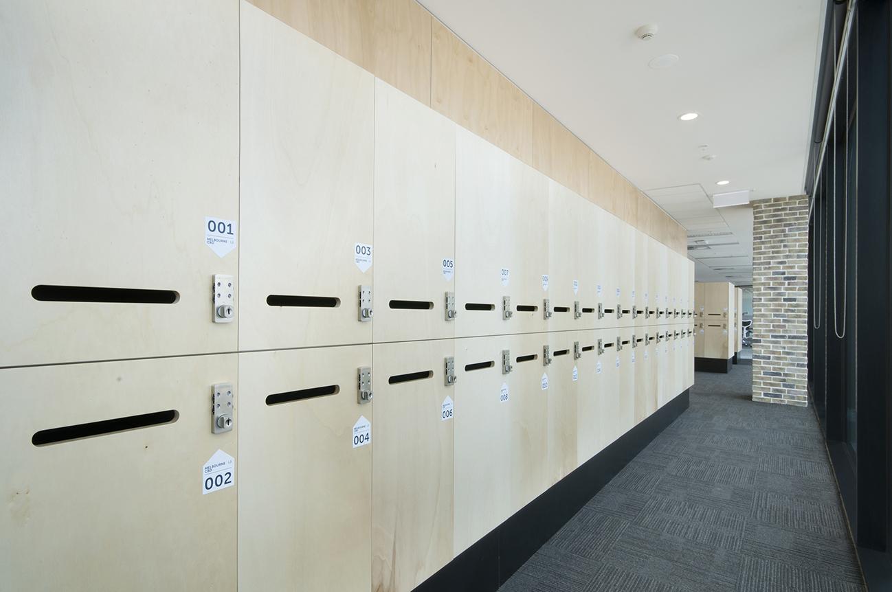 locker combination lock at REA