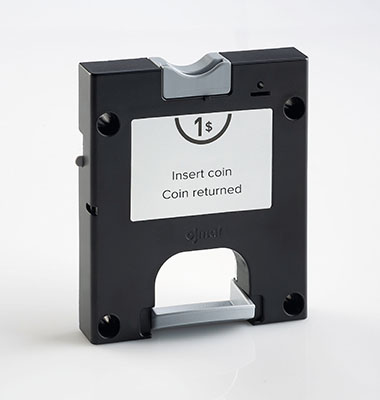 Dry area coin operated lock