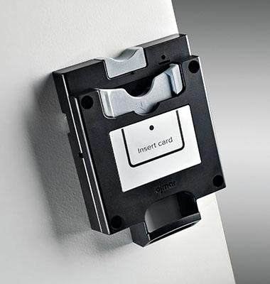 Coin operated locker lock