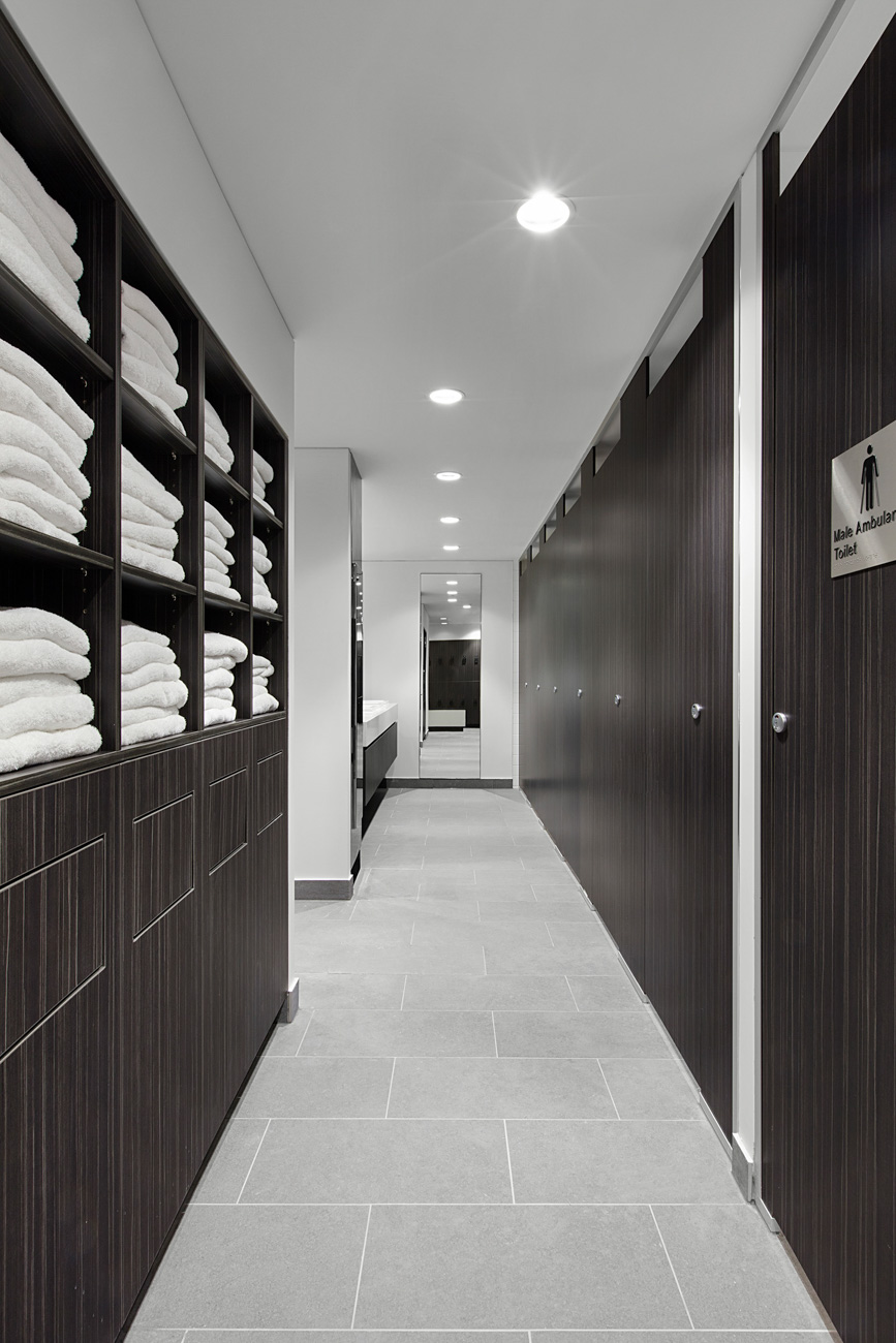 Towel storage at end of trip facility melbourne