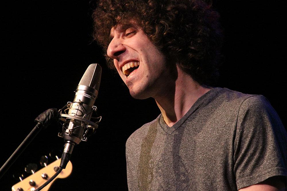 Joshua Glass performs. Photo by James Lockridge.
