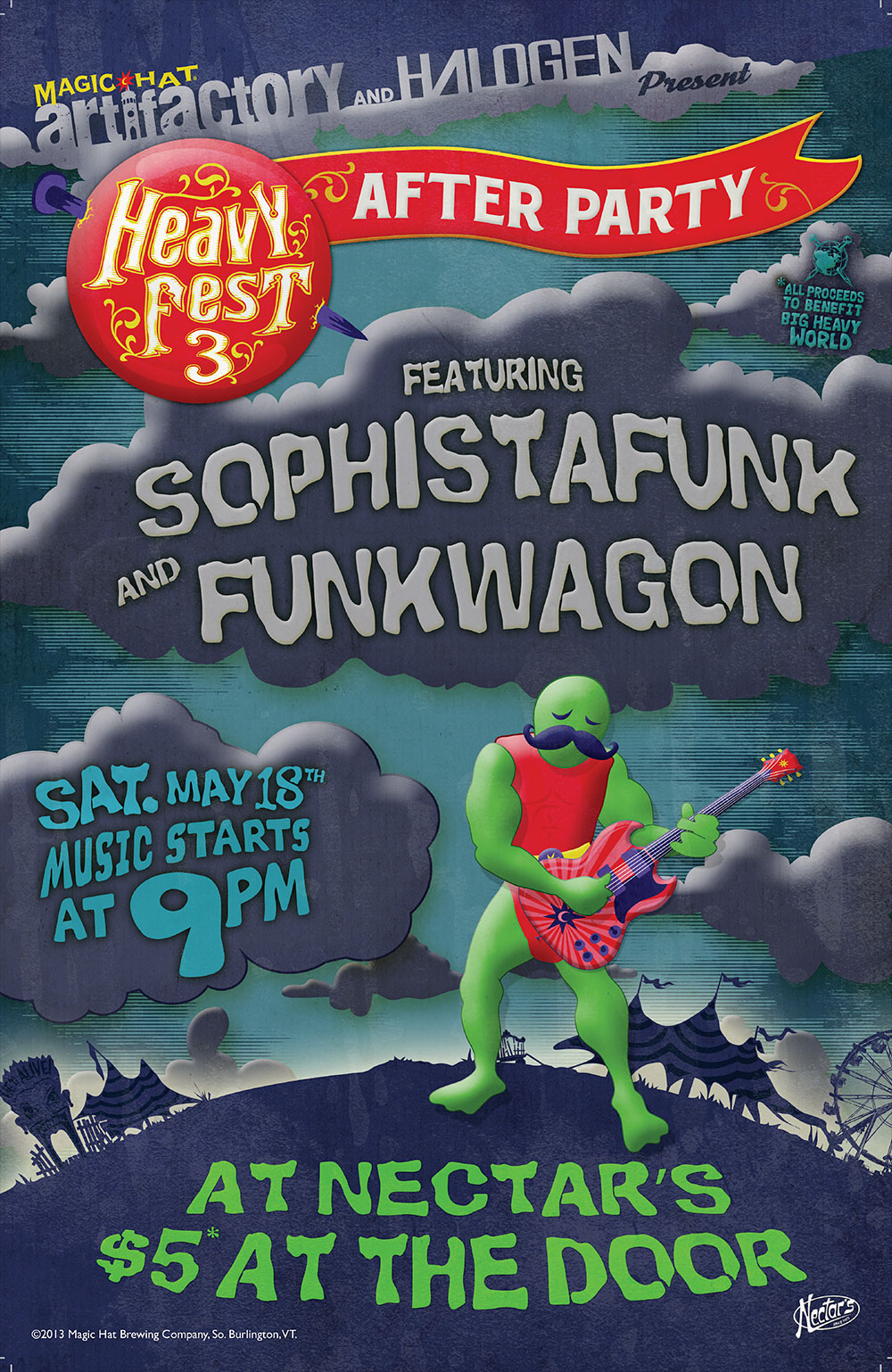 2013 After Party Poster