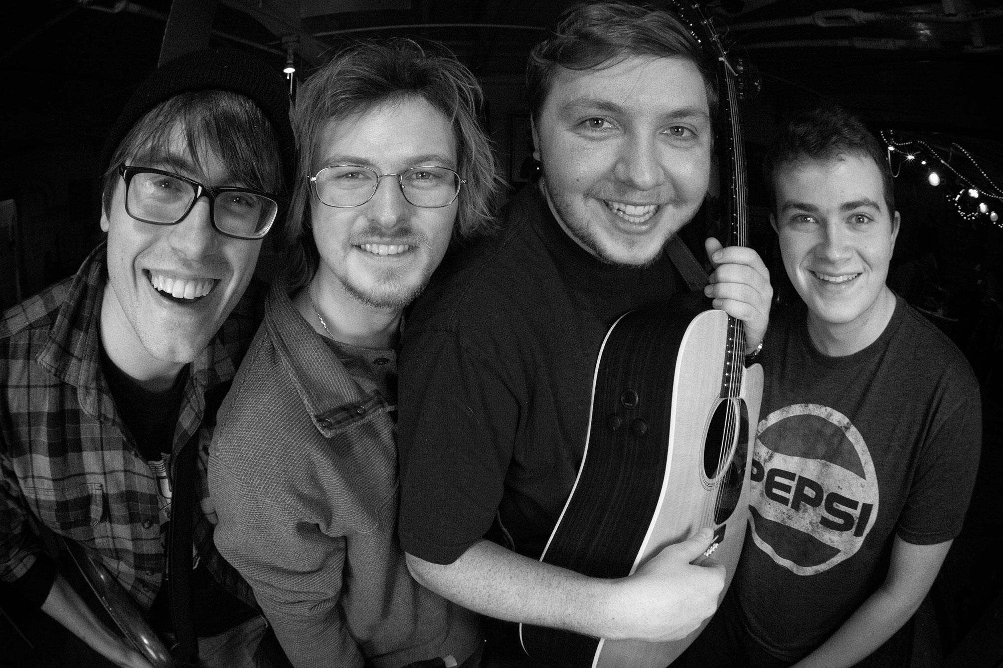 Alex, Colin, Chris, and John
