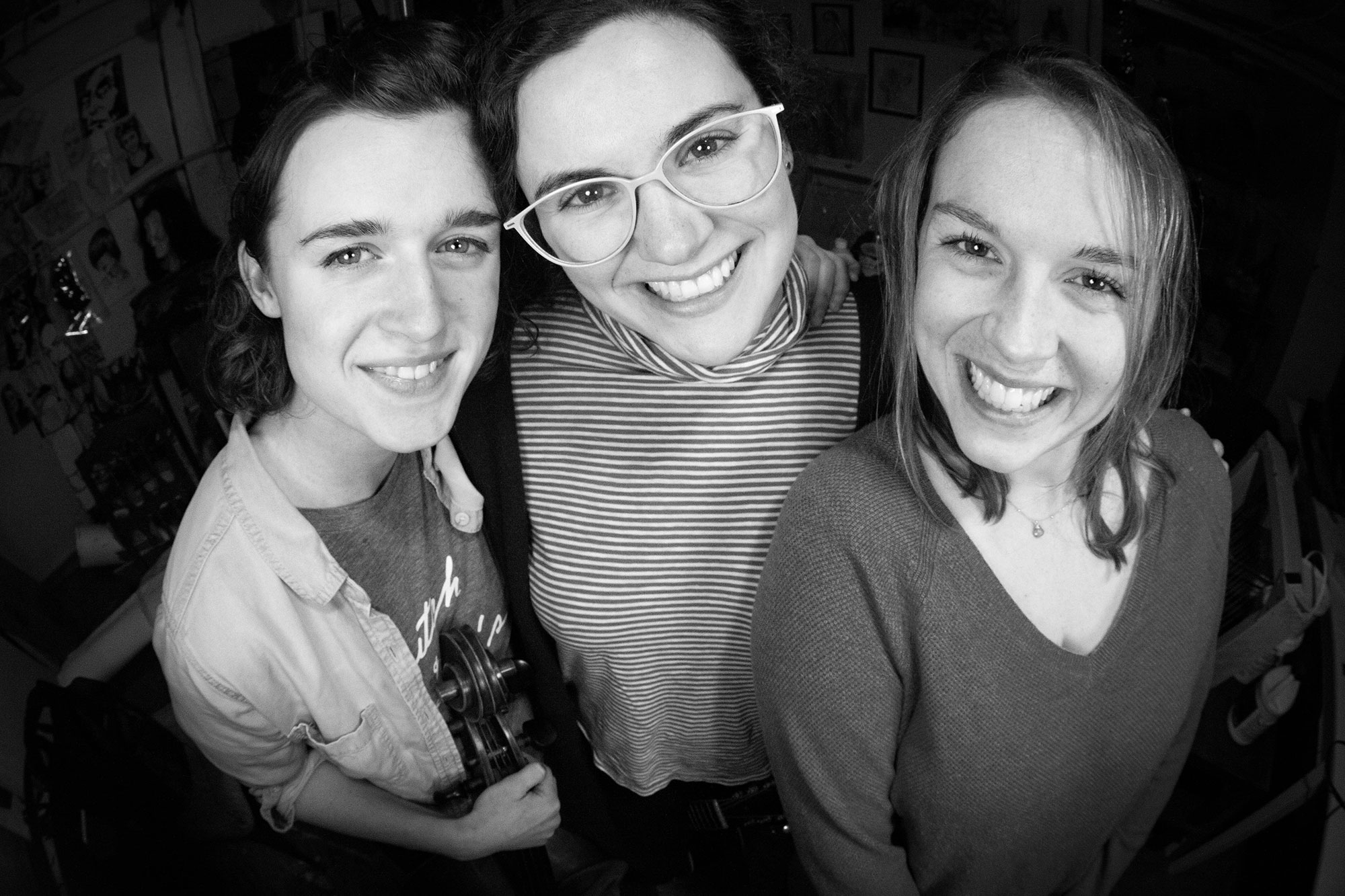 Cleo, Hannah, and Julia