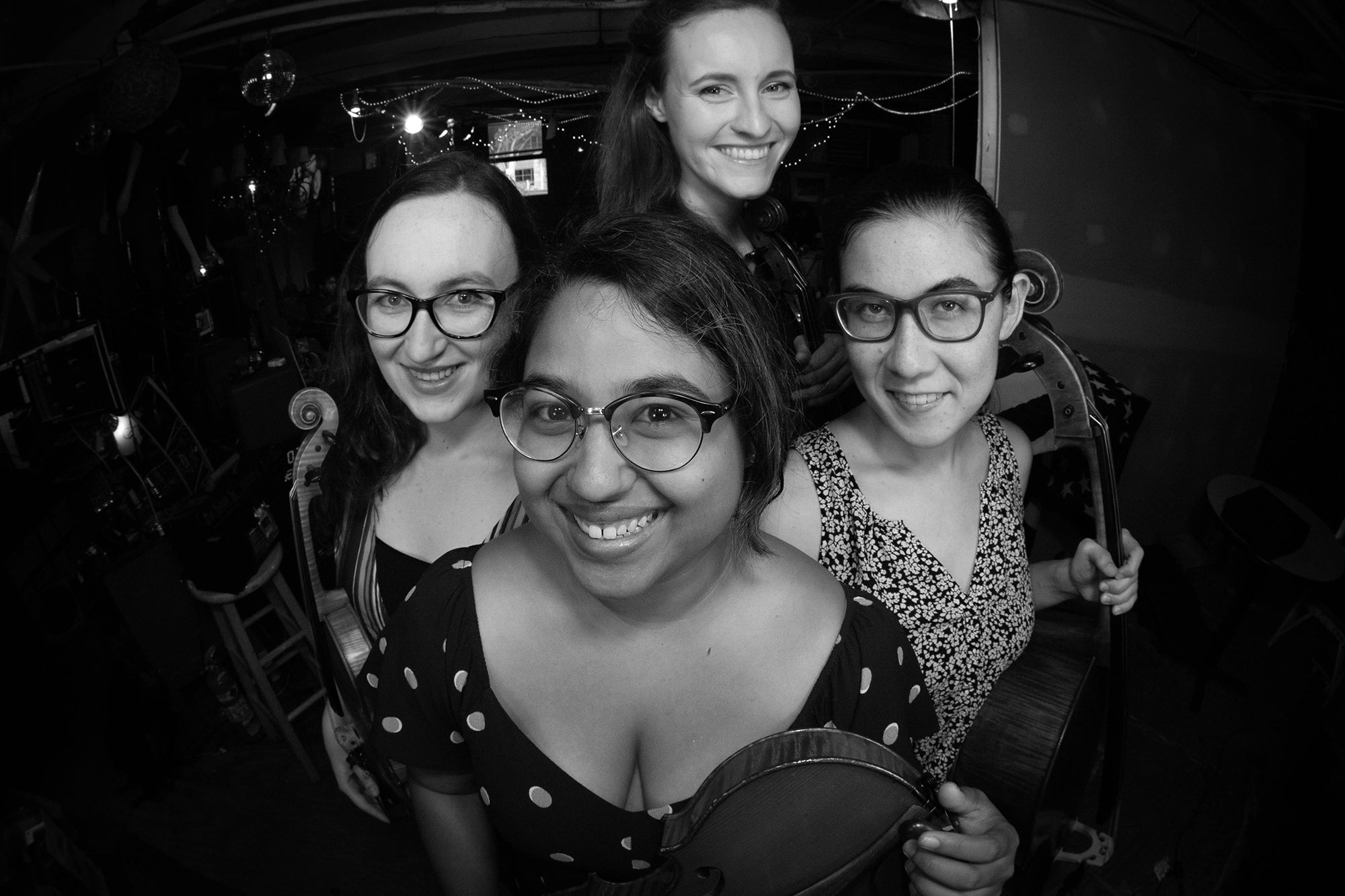 Sarah Kissinger, Maitreyi Muralidharan, Rebecca Lester, and Julia Weldon