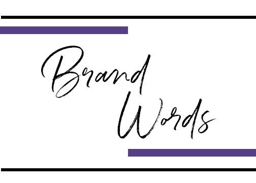 Define your brand -