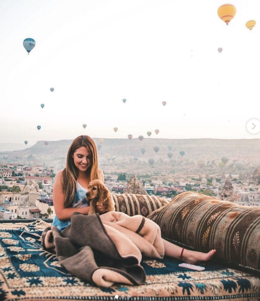 layla of las angeles travel girl