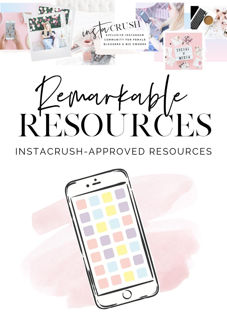 remarkable resources instagram