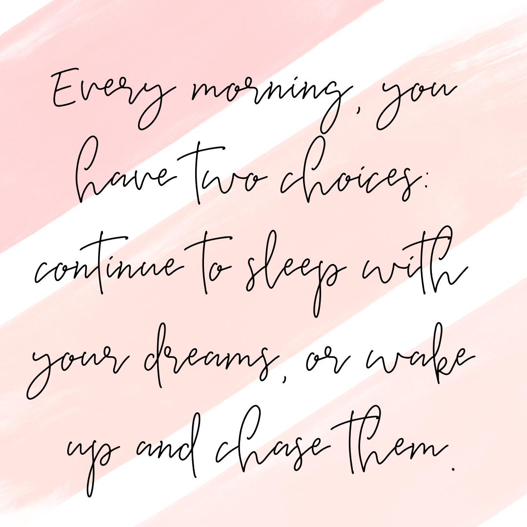 dreams instagram post
