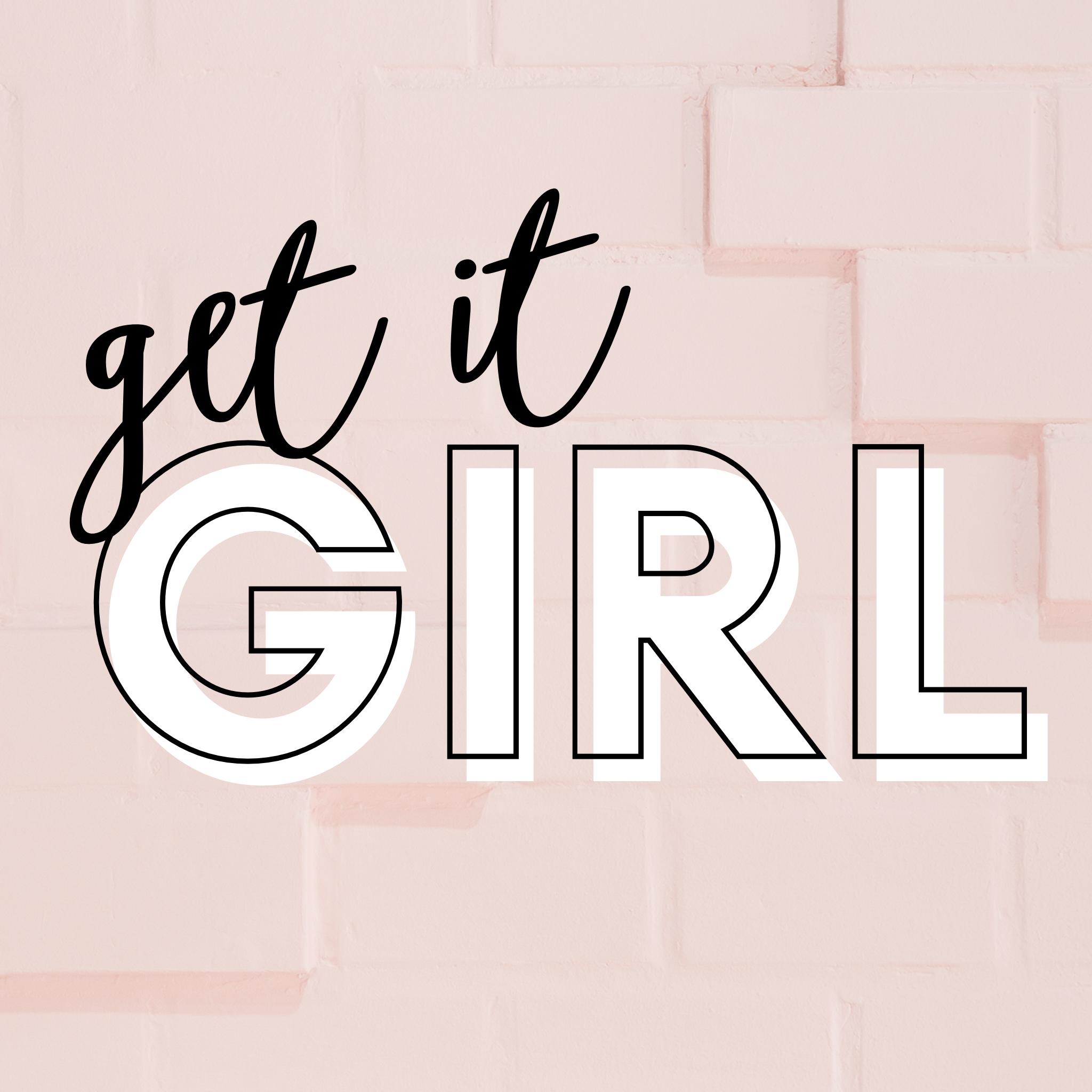get it girl peach