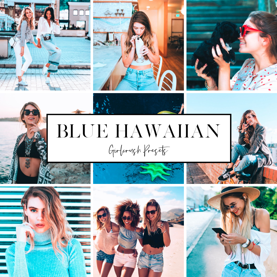blue hawaiian girlcrush preset