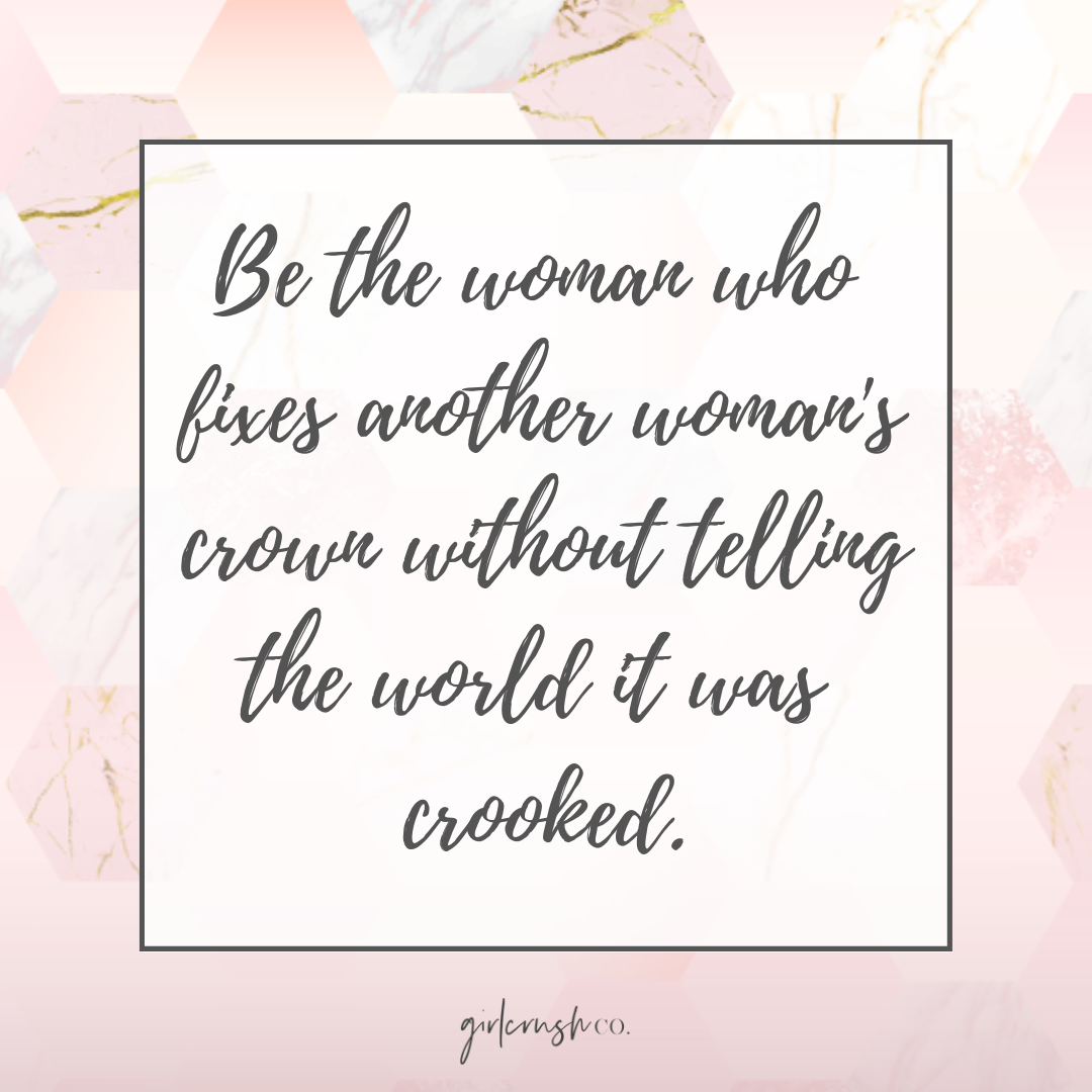 gold pink quote