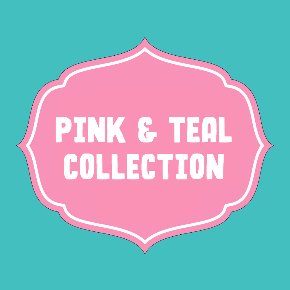 pink and teal highlight covers