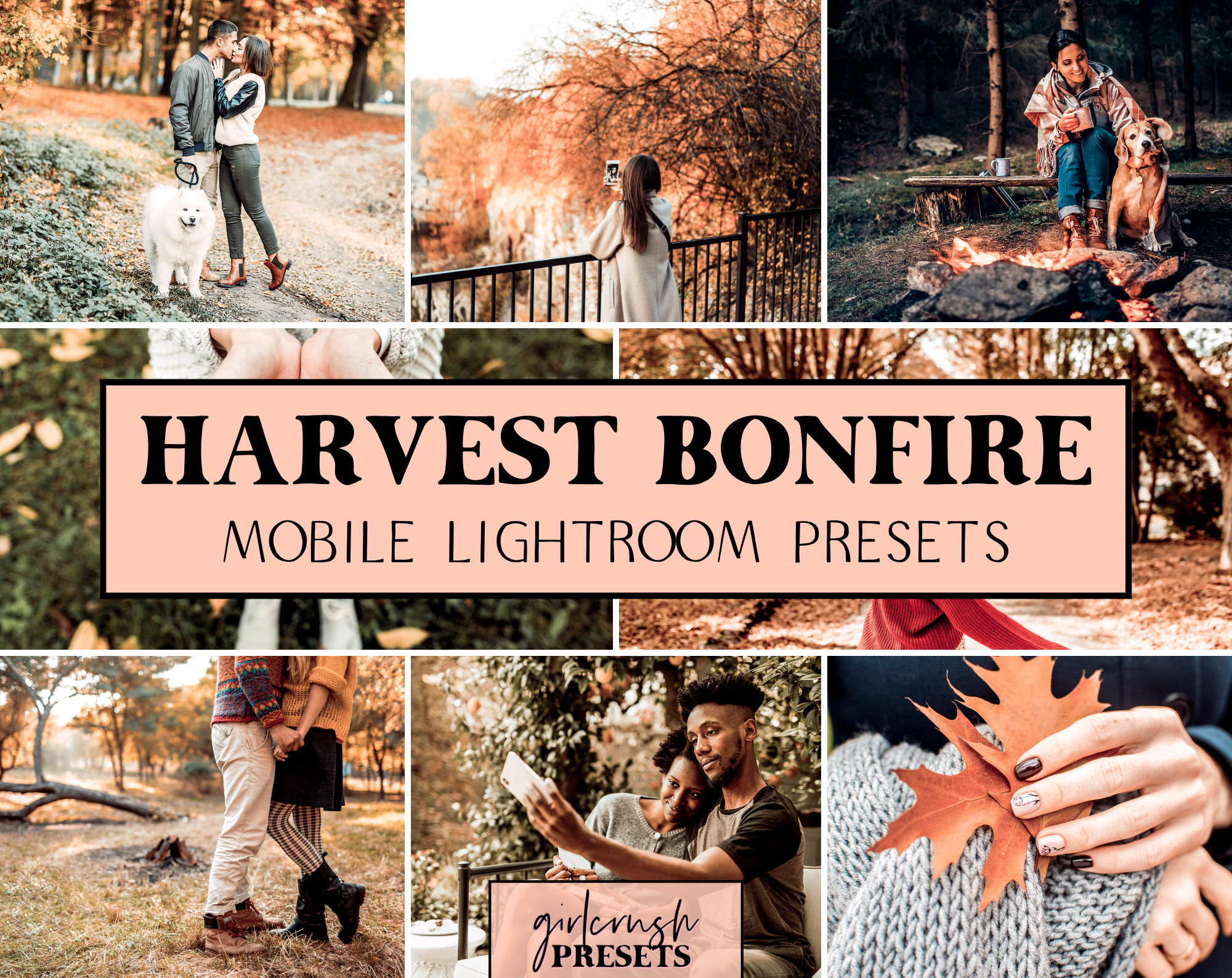Harvest Bonfire Lightroom Presets