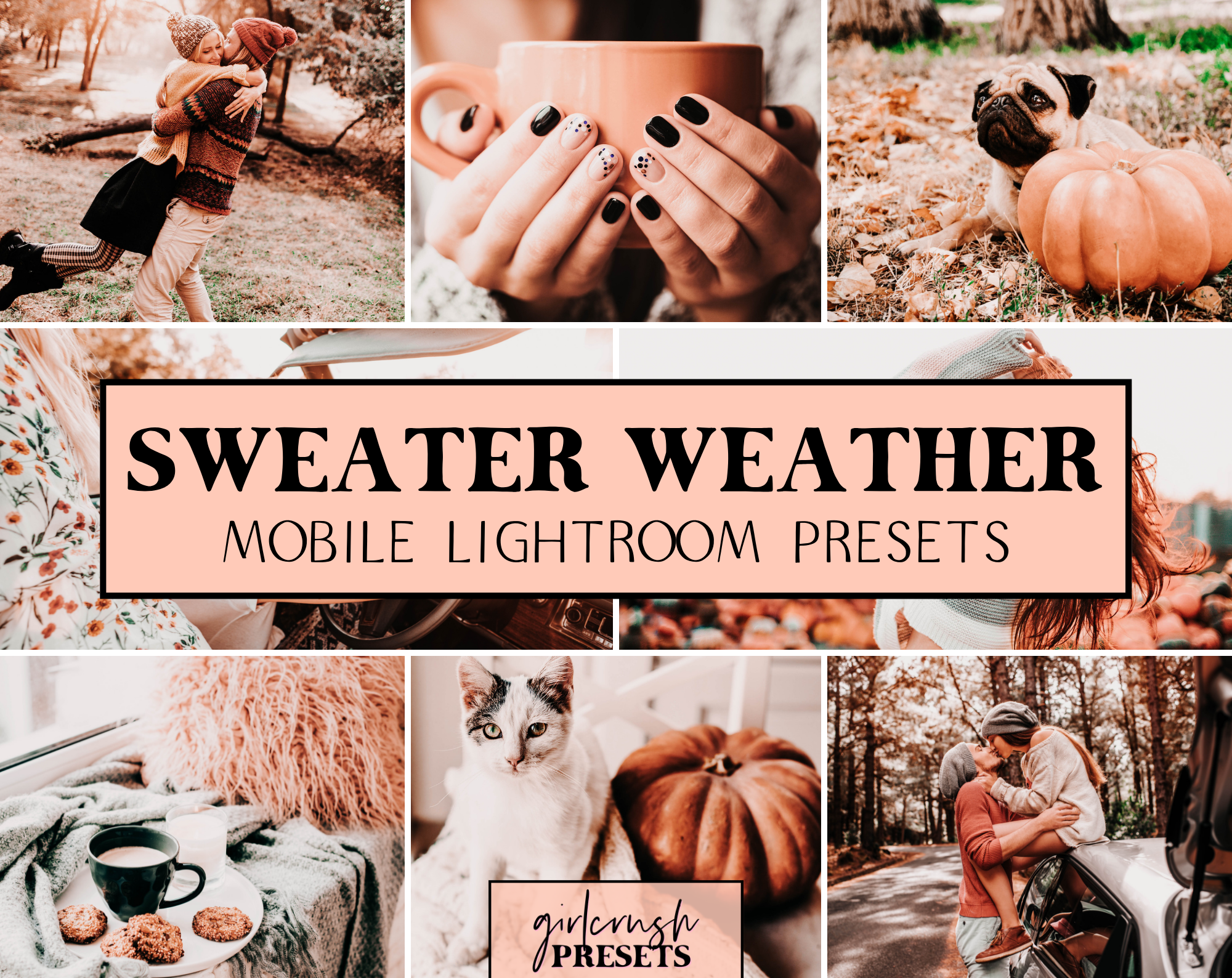 Sweater Weather Lightroom Presets