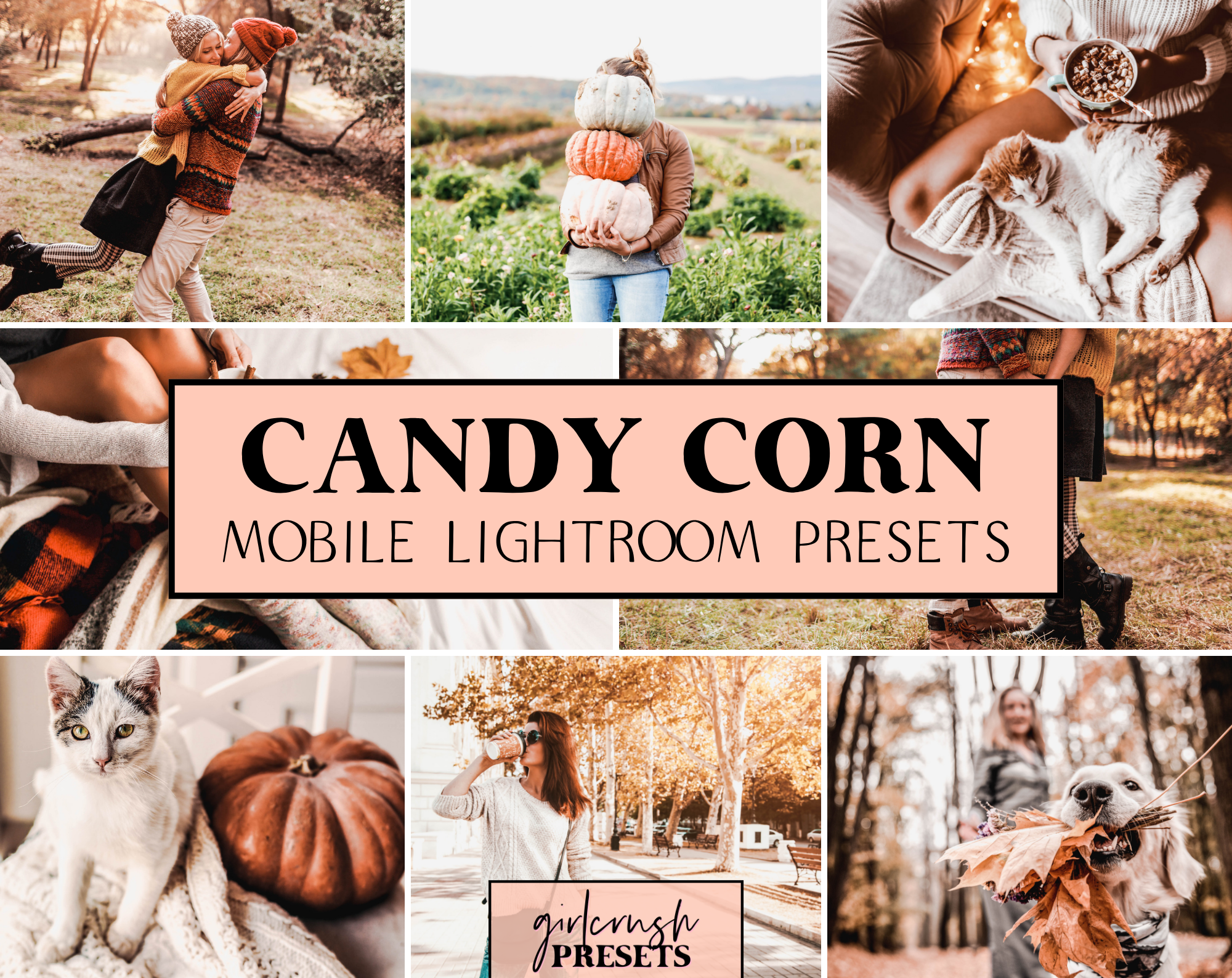 Candy Corn Lightroom Presets