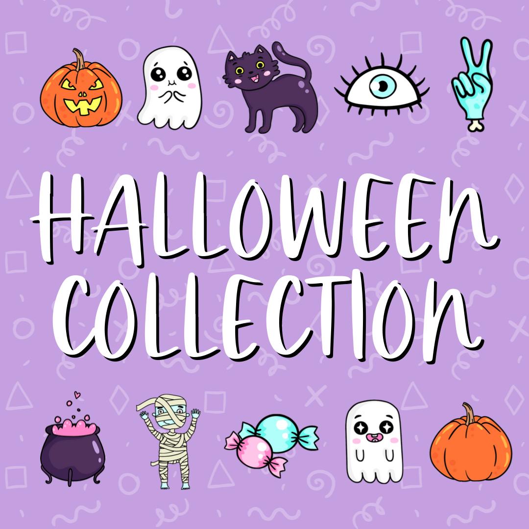 halloween collection - purple