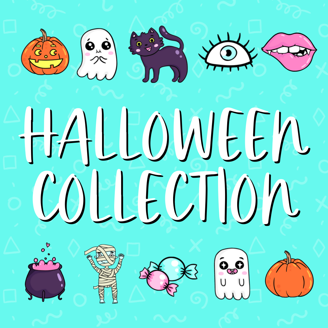 halloween collection - blue