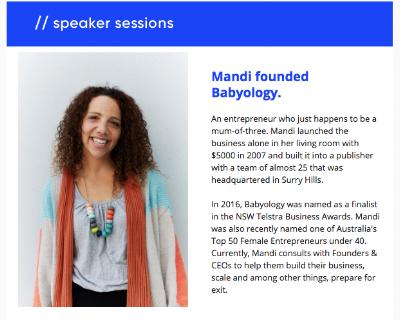 Mandi Gunsberger // Founder Babyology