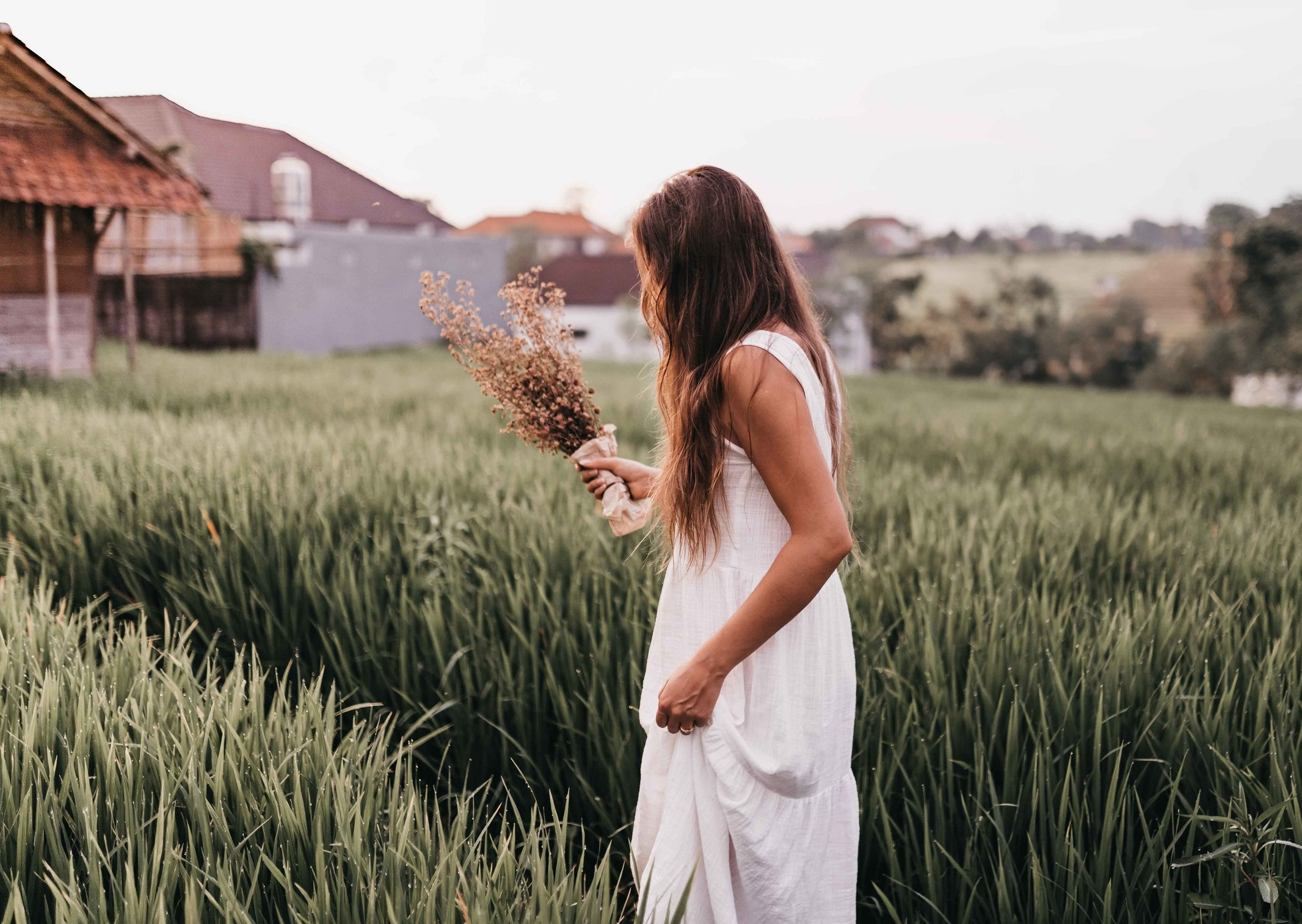 Sustainable dress by  Rove Byron Bay