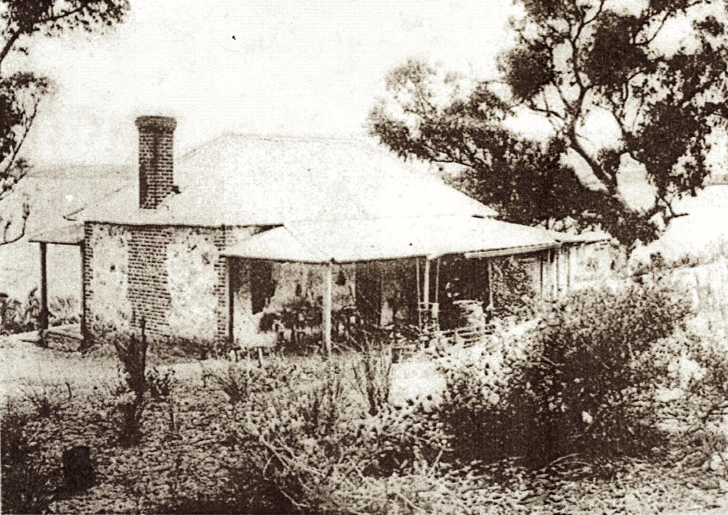 The Fox's cottage, within the grounds of Gallop House Dalkeith