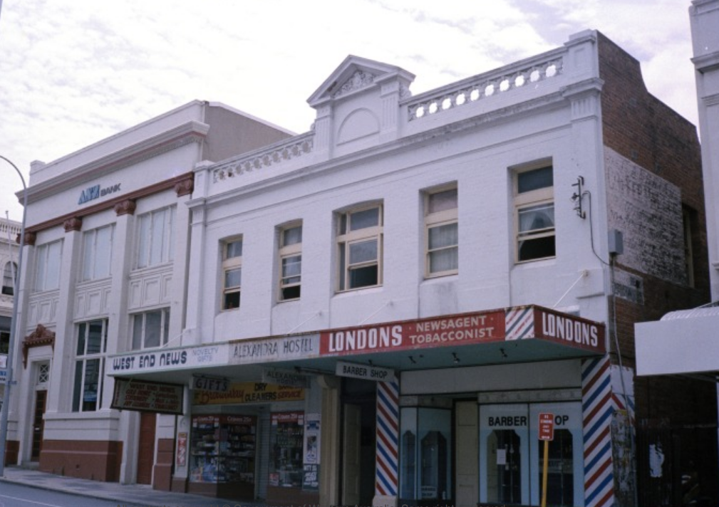 Alexandra Hostel in 1982. Courtesy State Library of Western Australia (b3799990_5).