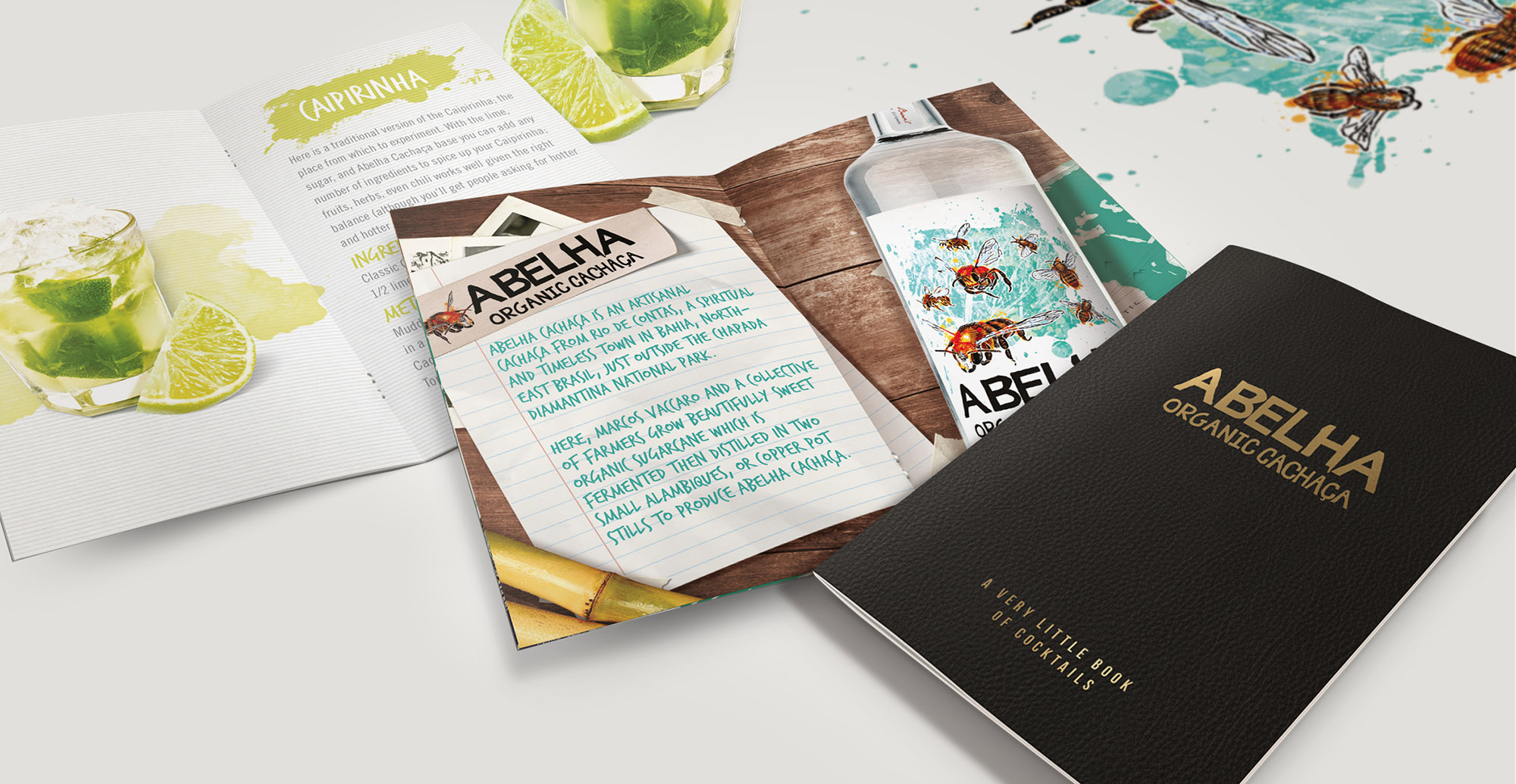 Structural Design and Brochure Design for Alcohol Brand Albelha - Brochure