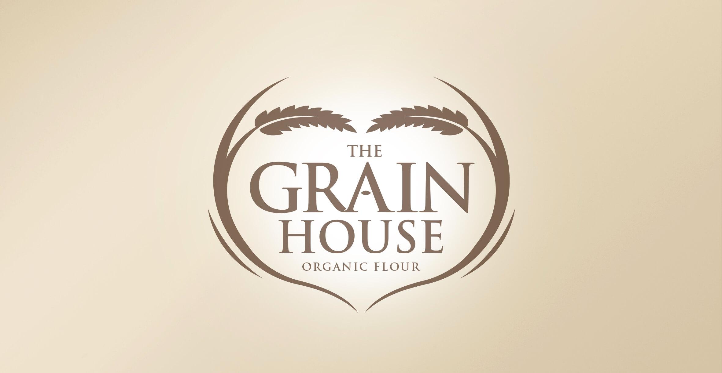 Premium Branding Design for Food Brand Grainhouse Flour - Logo