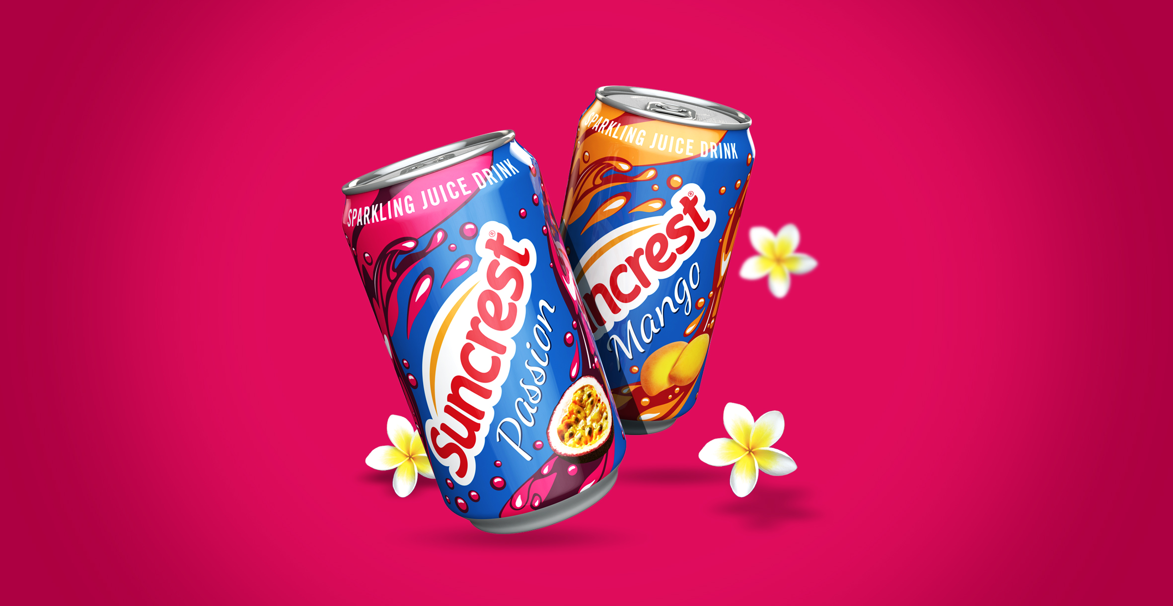 Redesign of well known beverage brand Suncrest - Can Design