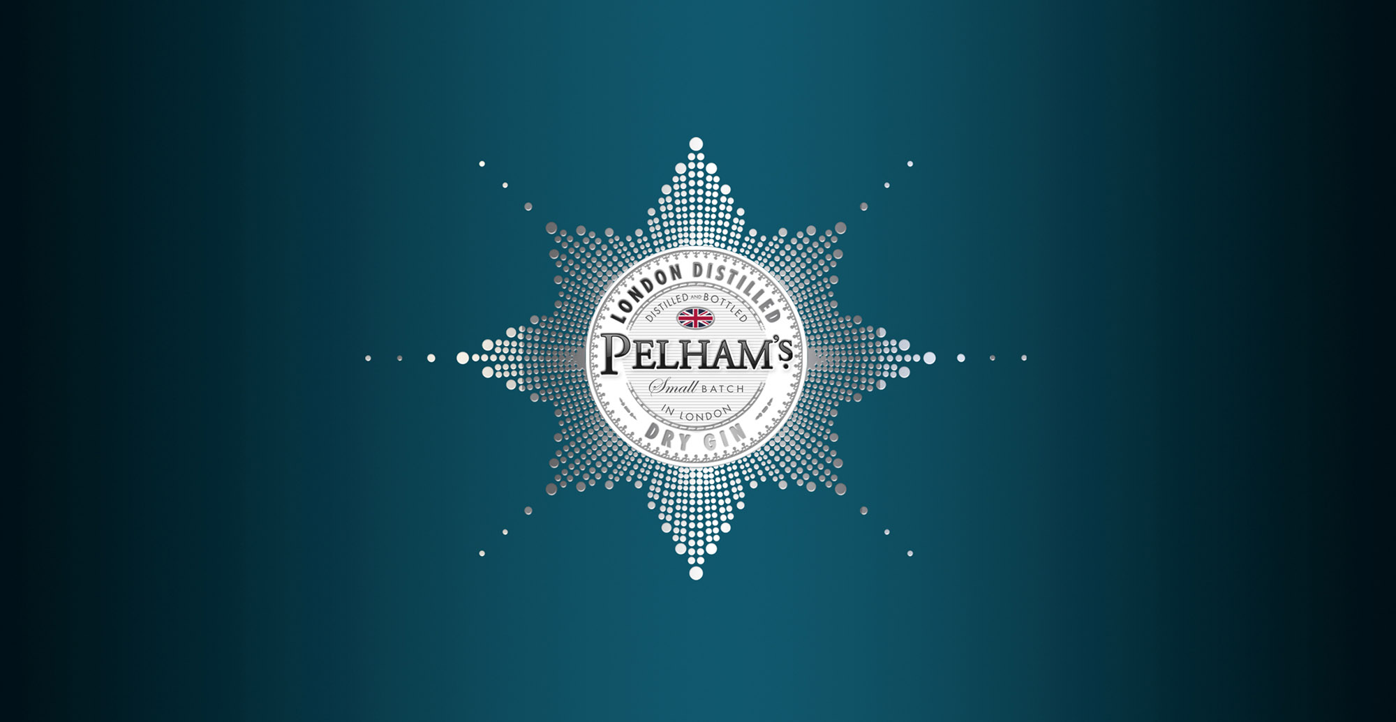 Branding and Packaging Design for Premium Gin Brand Pelham's - Logo