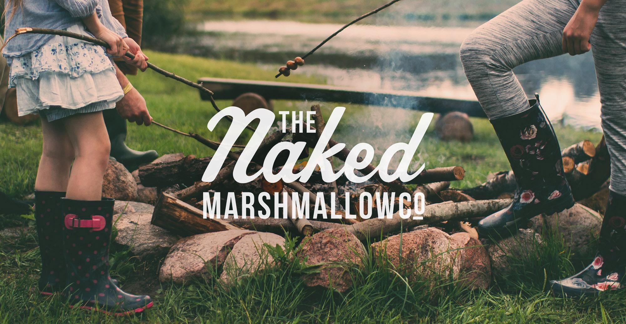 Naked Marshmallow Co. Branding - Brand Identity