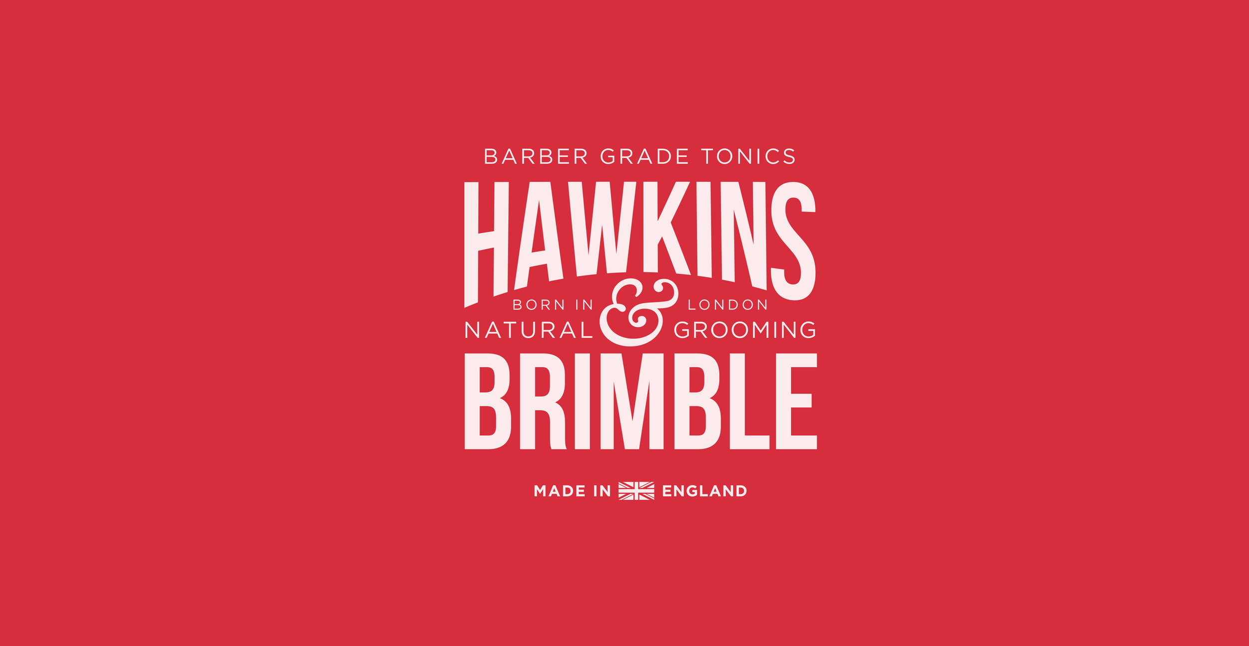 Launching a male grooming brand - Hawkins & Brimble Brand Identity