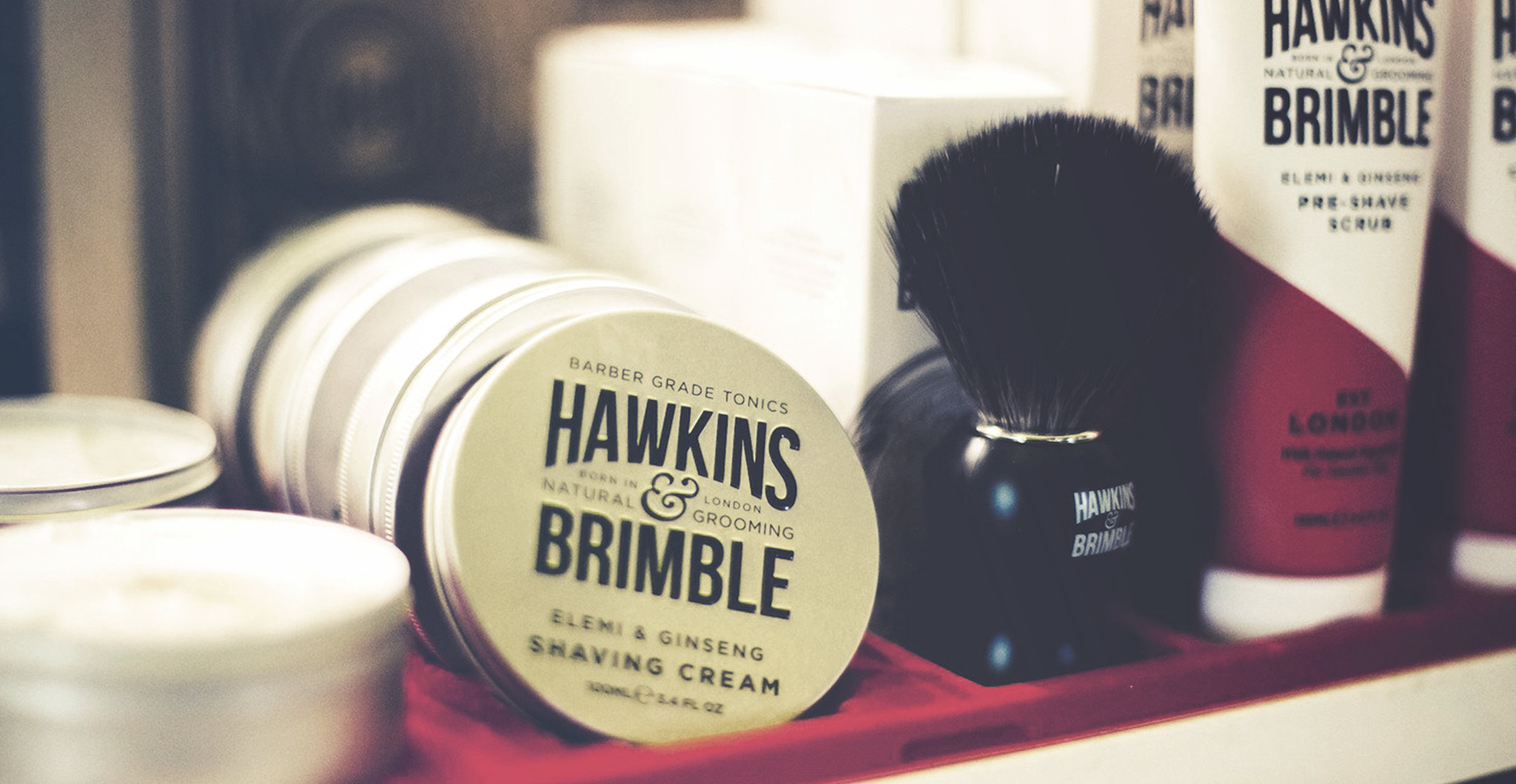 Launching a male grooming brand - The Hawkins & Brimble Barbershop Grooming Range