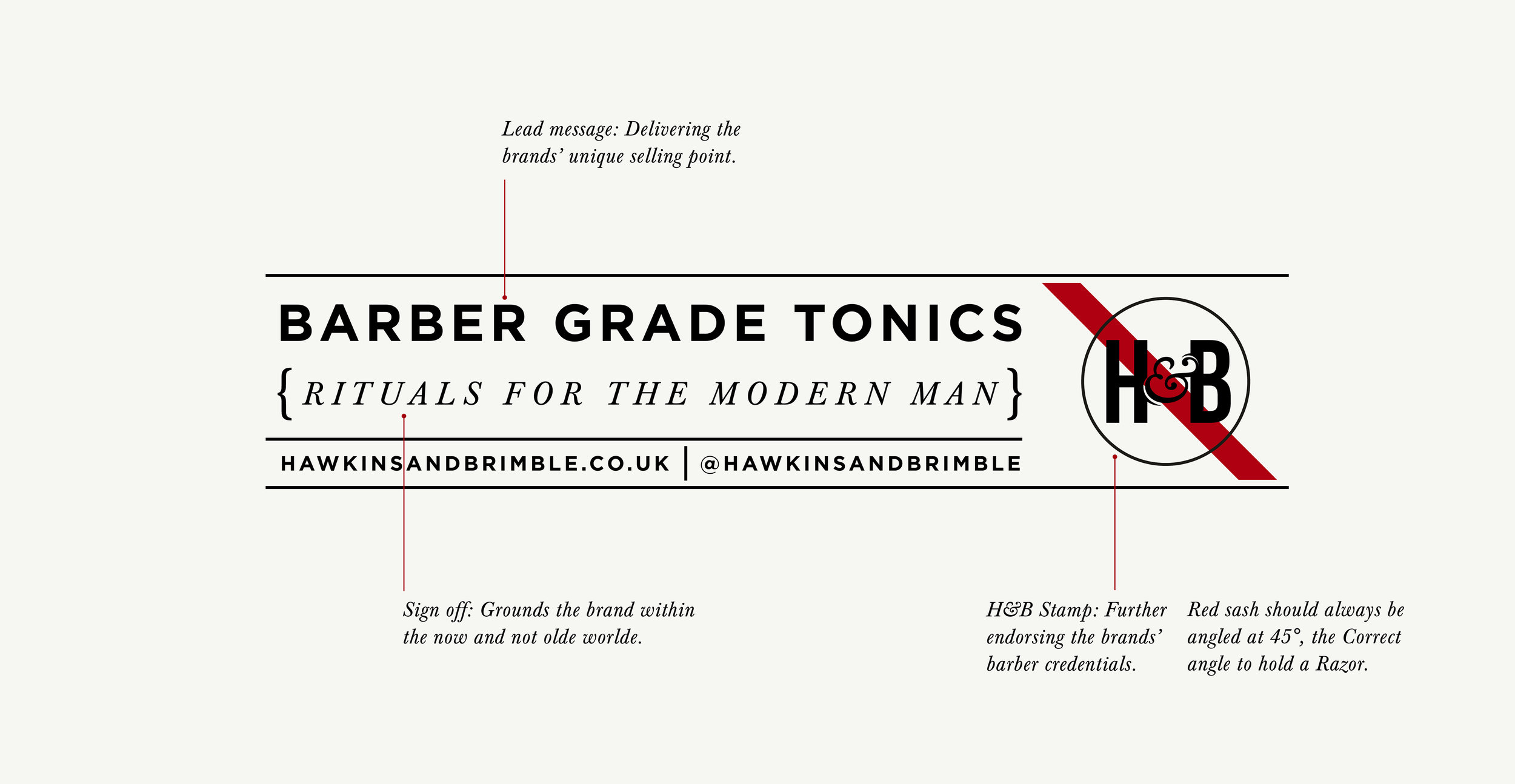 Launching a male grooming brand - Brand mark