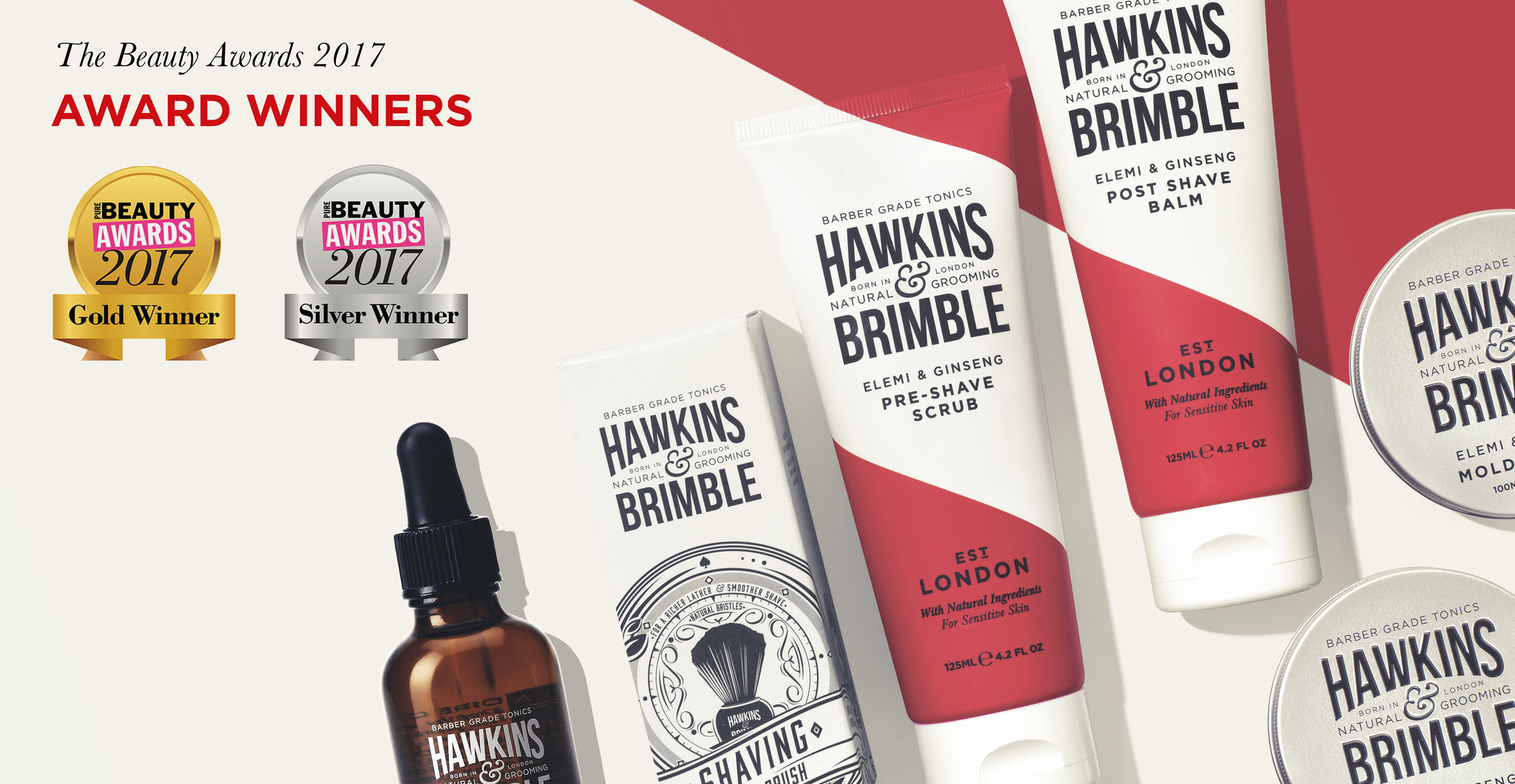 Launching a male grooming brand - Brand Awards