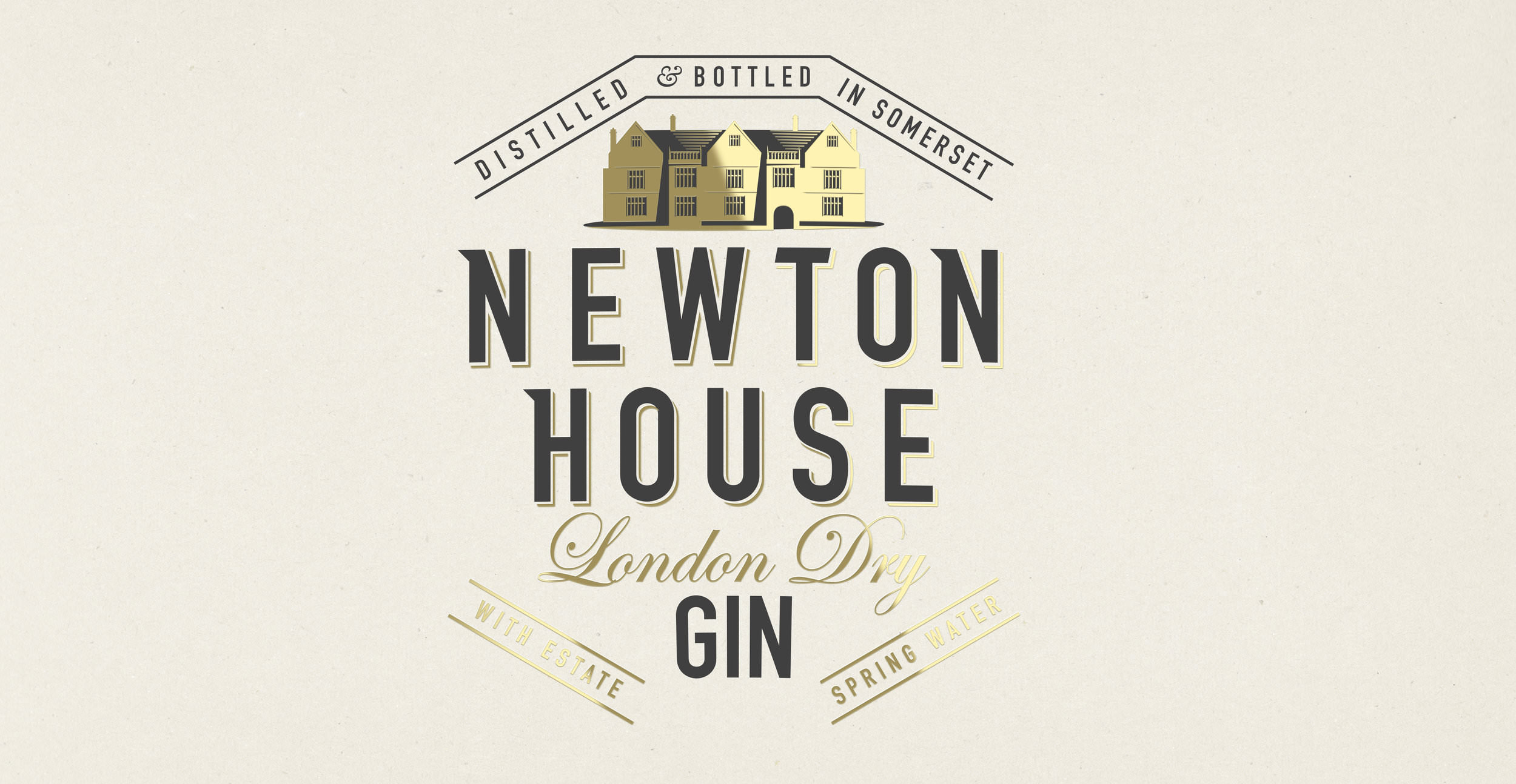 Newton Gin Branding and Packaging Design - Brand Identity