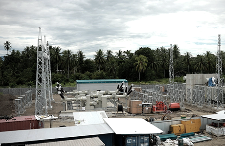 54MW internal combustion power - 30MW internal combustion electric power plant in Lae