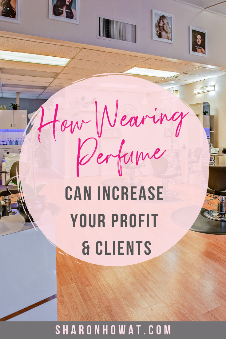 *Please repin* How Wearing Perfume can Increase Your Salons Profits and Increase Clients 💇‍♀️💅 CLICK to read the full article and get some ideas - it's free to register!