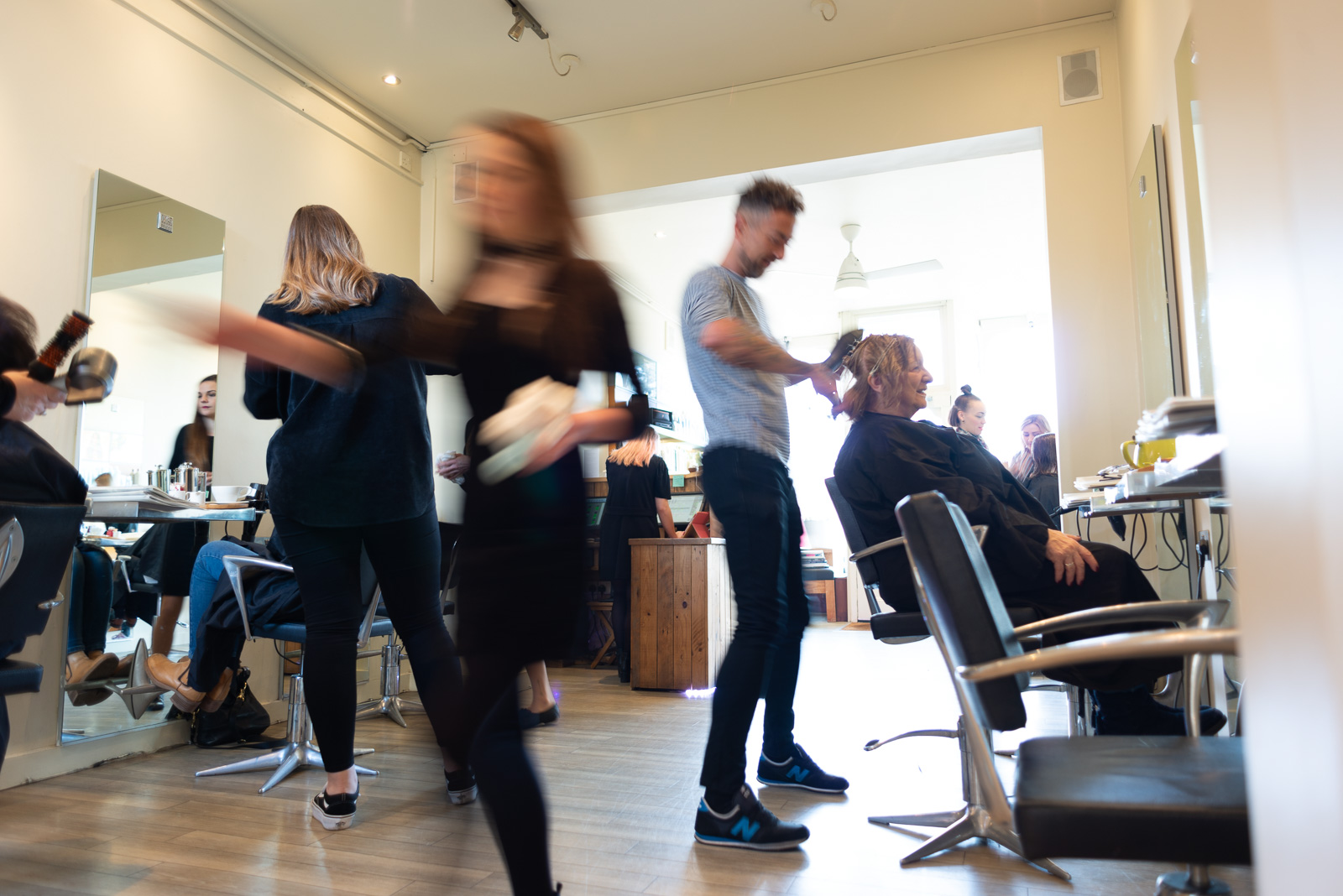- Using the finest Aveda products our stylists offer exceptional cutting and colouring techniques, and are not afraid to negotiate styles with you to ensure you get the cut and colour that really suits you.