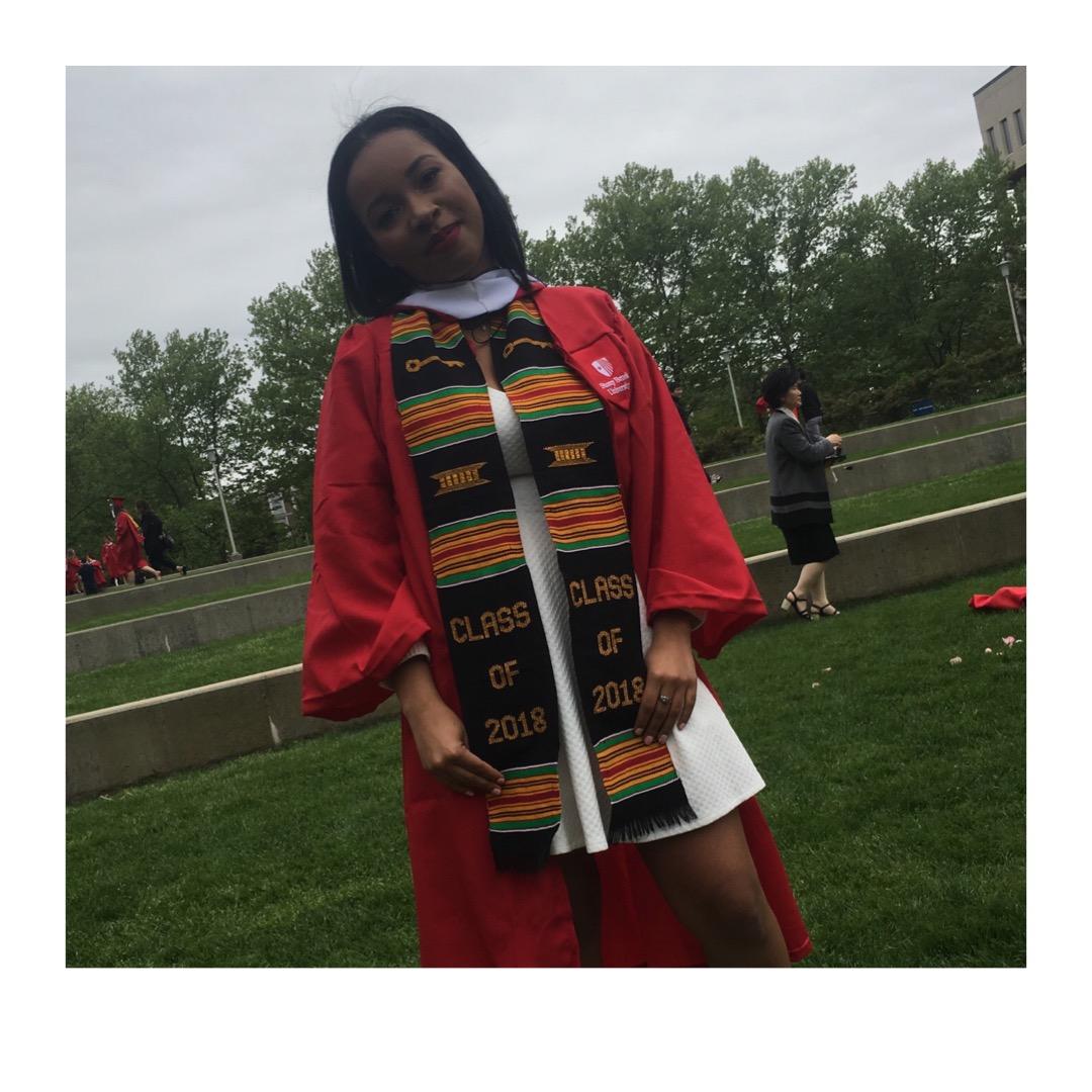 Me at my Graduation Ceremony, 2018