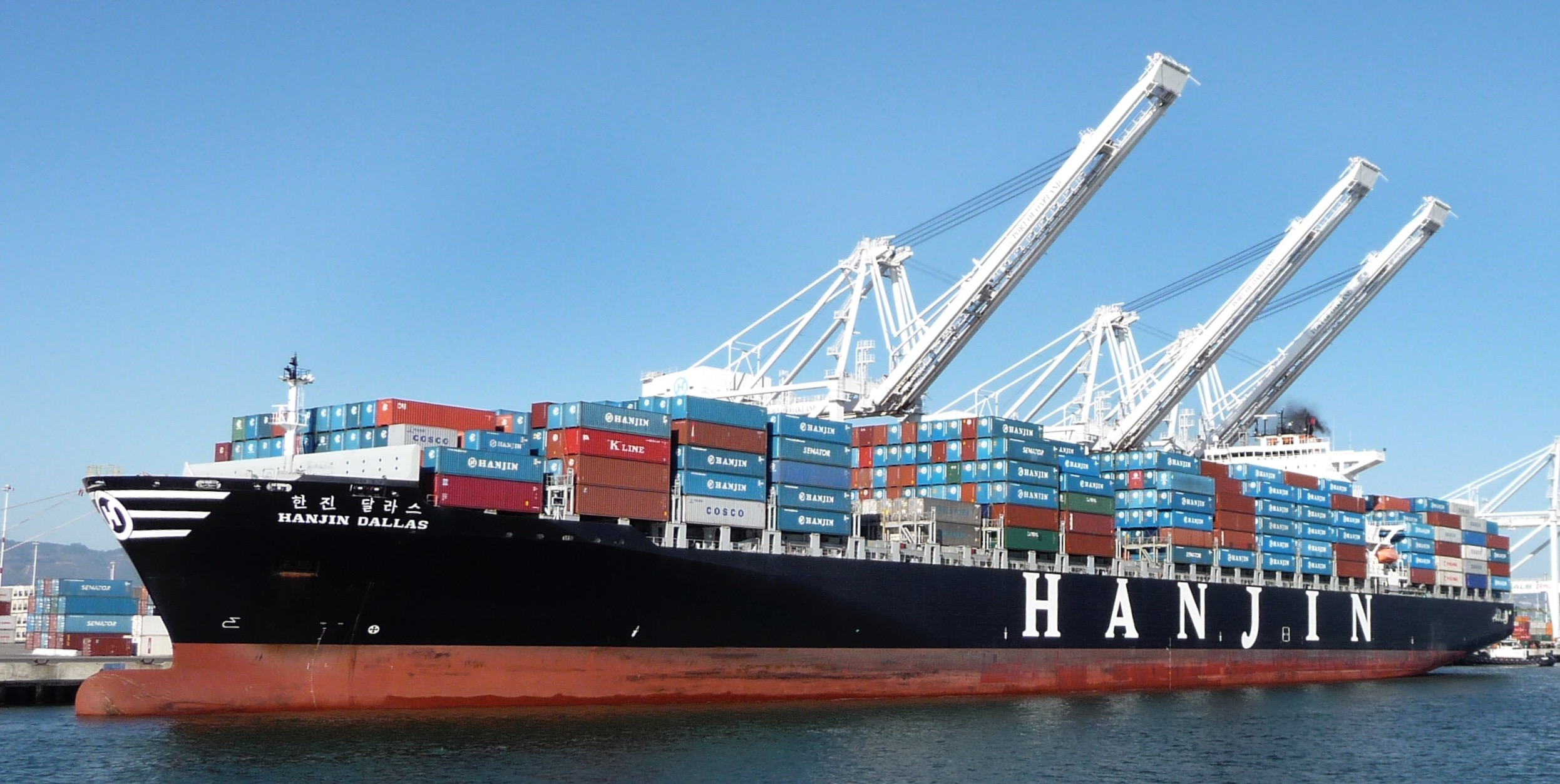 The Hanjin Dallas. Photo credit: Ingrid Taylar