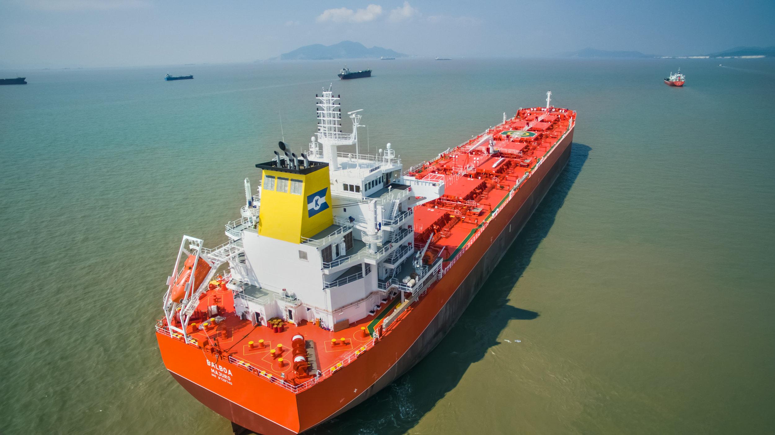 Combination carrier MV Balboa
