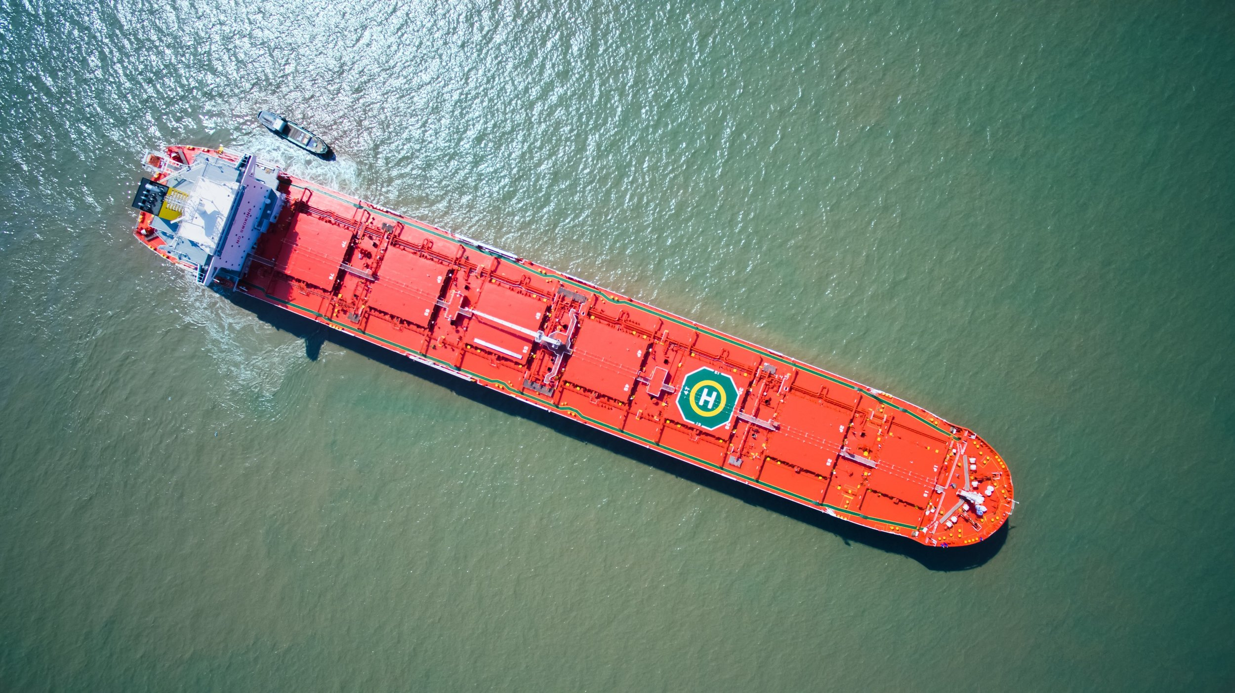 The combination carrier MV Balboa has been built for transporting both wet and dry cargo to minimize ballast, effectively reducing emissions per transported ton of cargo.