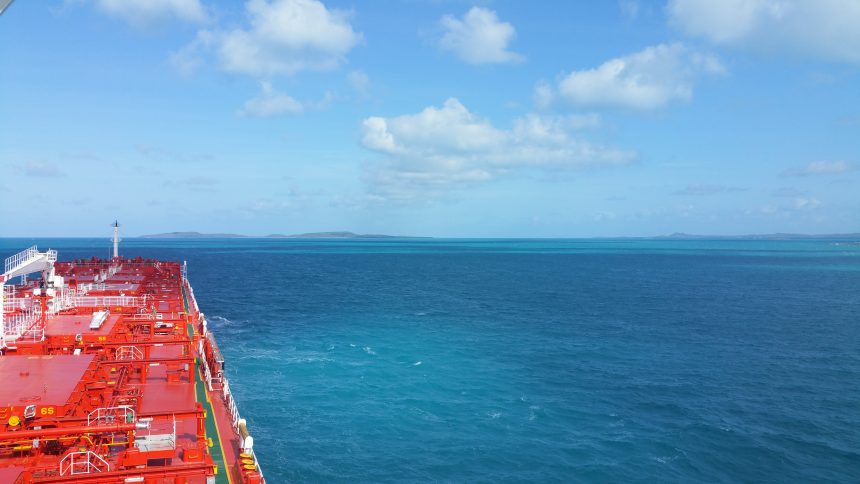 View of the Great Barrier Reef from MV Baffin Credit: Harald Lauvik Gjelstad