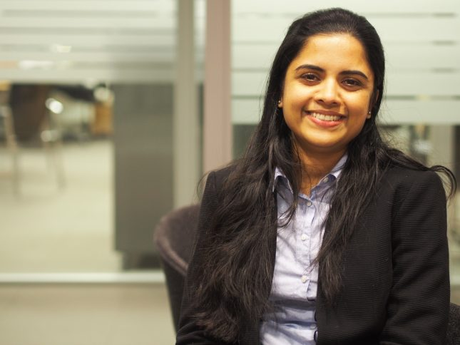 Photo: Sunu Kurian gained valuable experience from her 7 months at Klaveness, as part of the Norwegian Labour and Welfare Administration (NAV) and Telenor's Integration program.