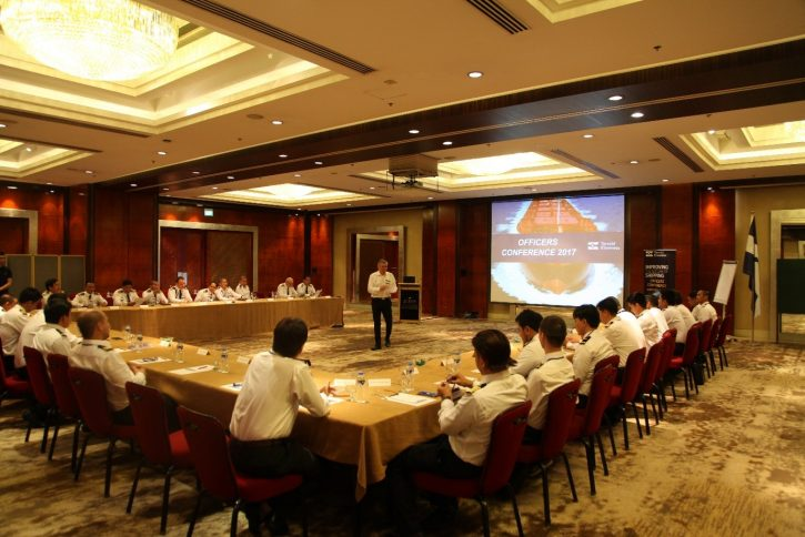 Photo: From Klaveness Ship Management Officers Conference 27-30 March, at New World Manila Bay hotel in Manila.